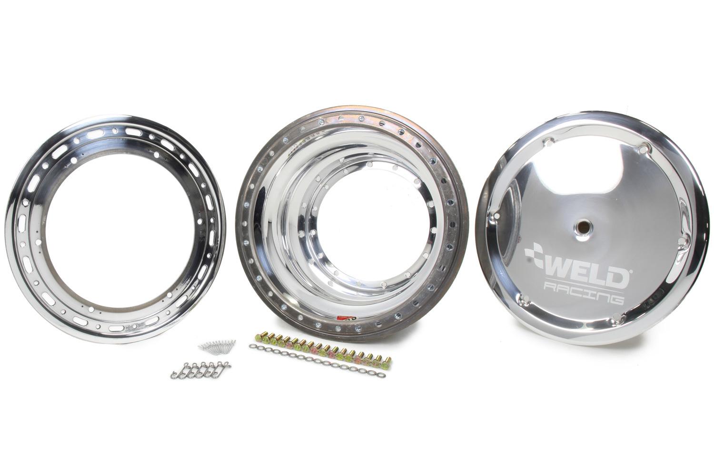WELD RACING Outer Wheel Half 15x9.25 Bead-Loc w/Cover P/N - P857-5954-6