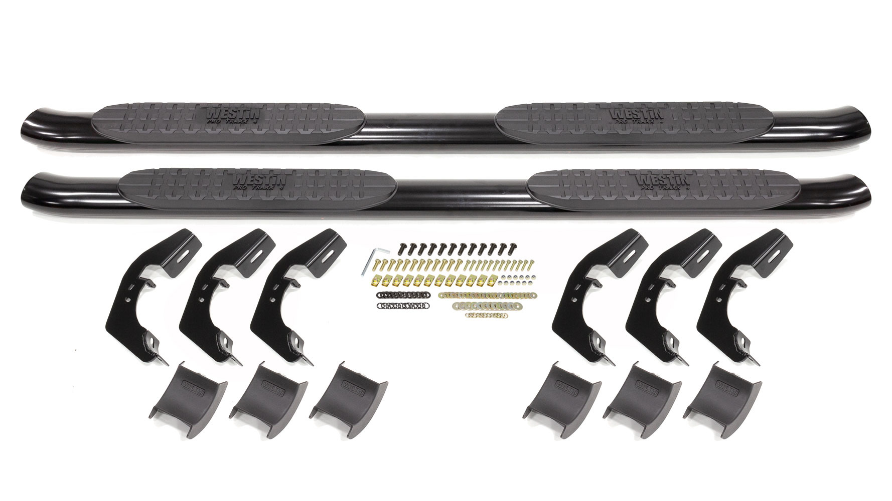 Pro Traxx 4in Step Bar 07-13 GM P/U 1500 Ext