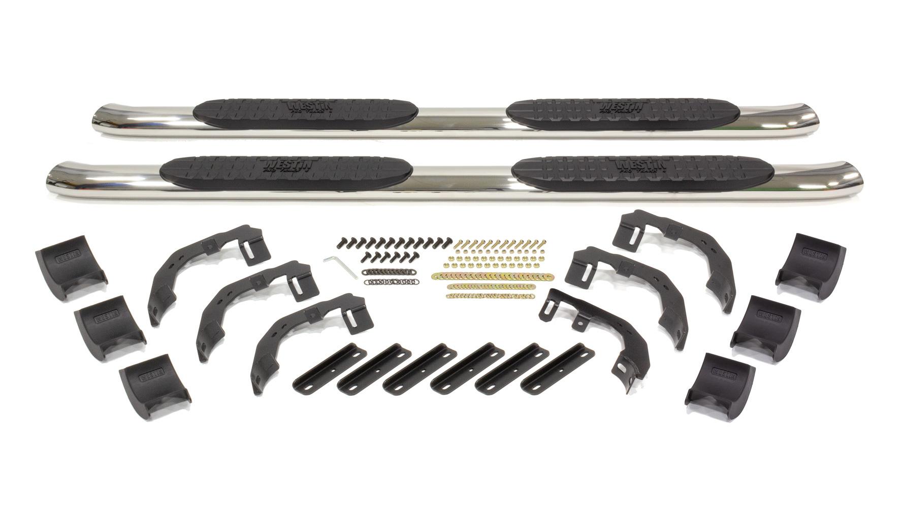 Pro Traxx 4in Step Bars 19-   Ram 1500 Quad Cab