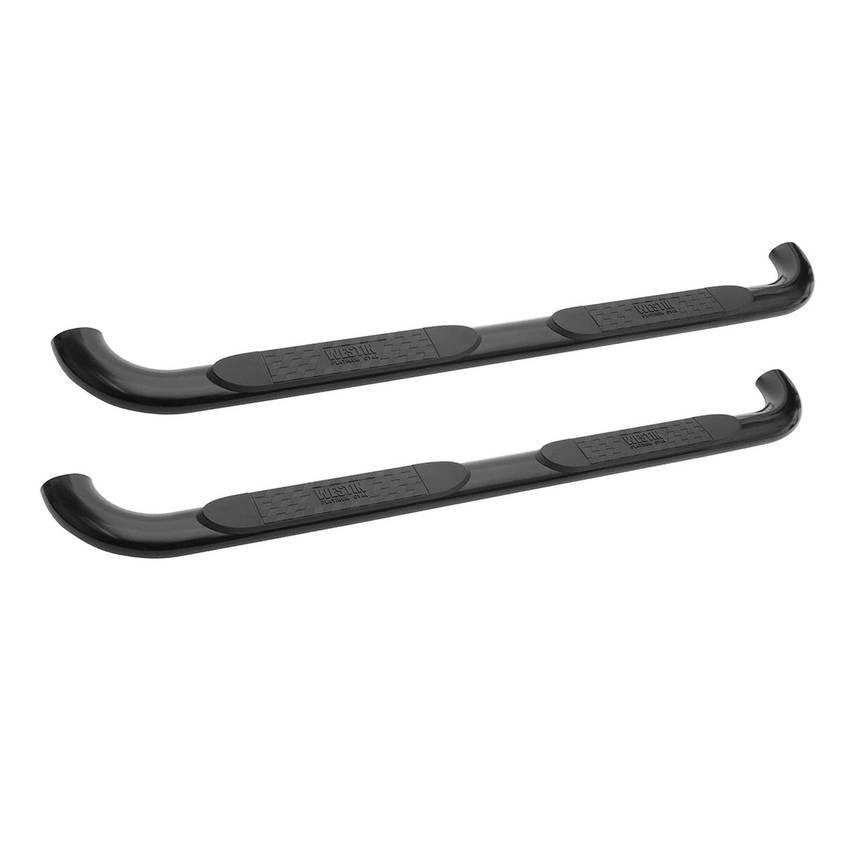 09- Ford F150 Black Oval Step Bars