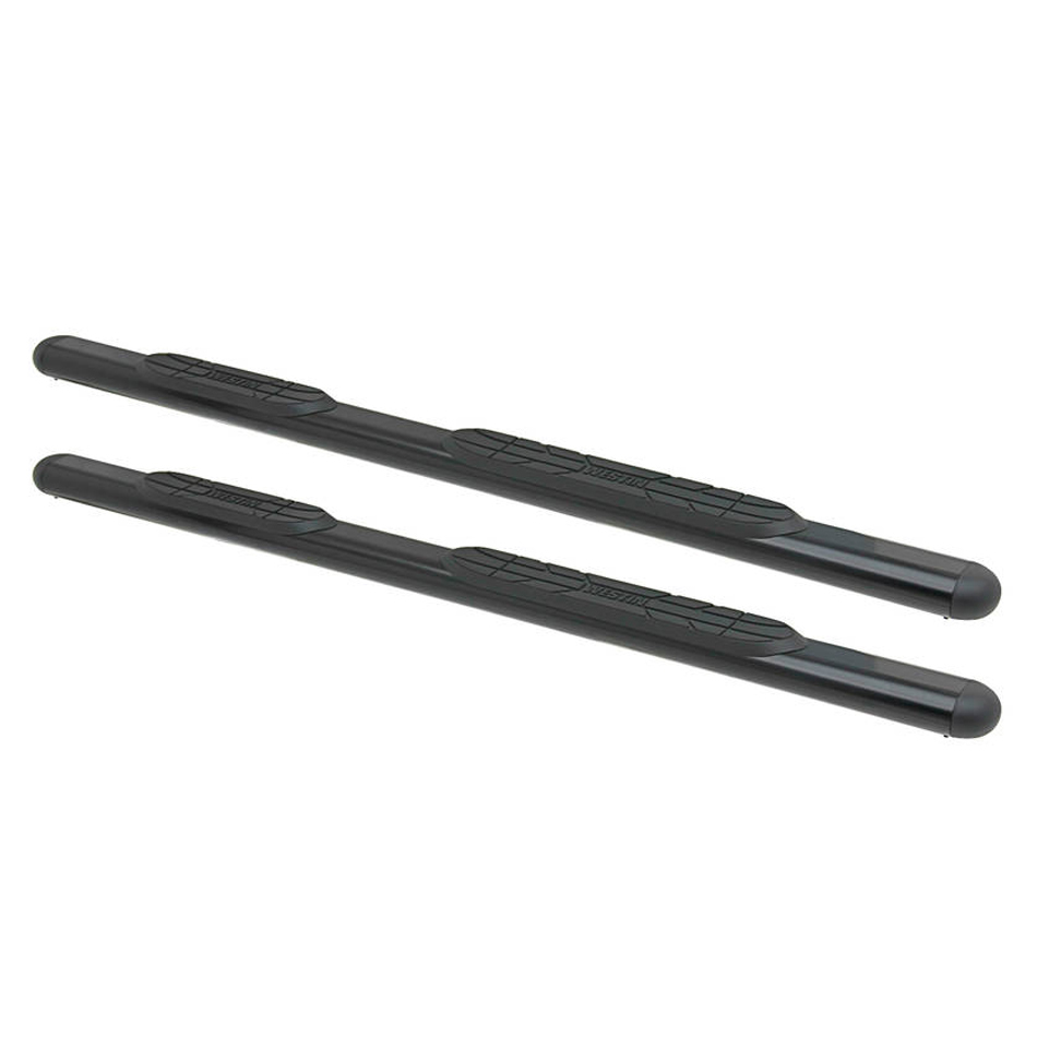 19-   Ford Ranger 4in Oval Step Bars Black