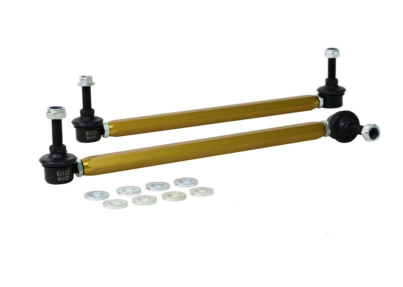 Sway Bar Link Assembly Heavy Duty Adj Steel
