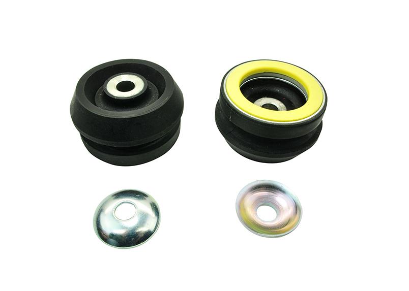 Whiteline W41772 Strut Mount, Polyurethane / Steel, Black / Yellow, Pontiac GTO 2004-06, Pair