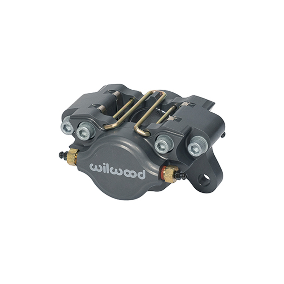 Wilwood 120-10188 Brake Caliper, Dynapro, 2 Piston, Billet Aluminum, Gray Anodize, 13.000 in OD x 0.380 in Thick Rotor, 3.250 in Lug Mount, Each