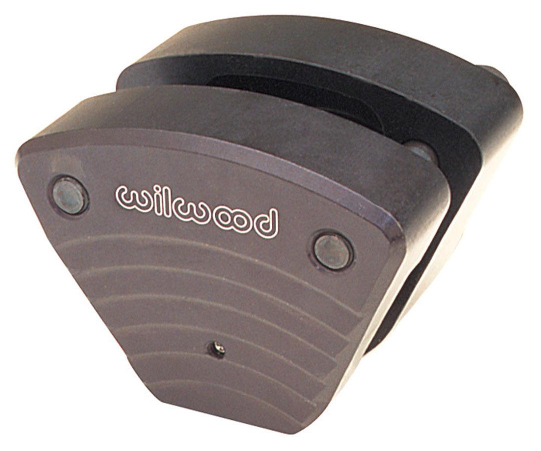 Wilwood 120-1064 Brake Caliper, Sport, 1 Piston, Billet Aluminum, Black Anodize, 13.000 in OD x 0.250 in Thick Rotor, 2.310 in Floating Mount, Each