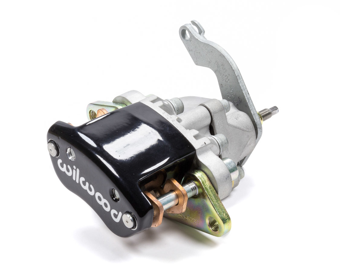 Wilwood 120-12070-BK Brake Caliper, MC4, Driver Side, Mechanical, Aluminum, Black Anodized, 2.88 in OD x 0.810 in Thick Rotor, 2.950 in Floating Mount, Each