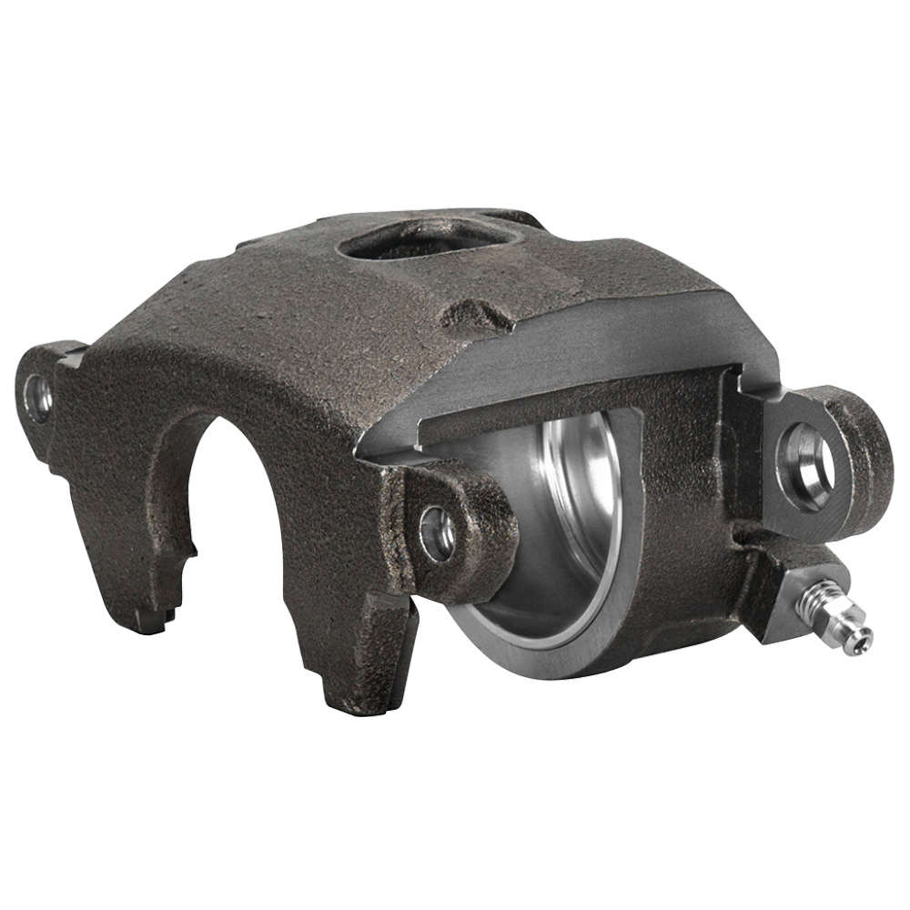 Wilwood 120-16101 Brake Caliper, GM Metric, 1 Piston, Iron, Natural, 11.750 in OD x 1.040 in Thick Rotor, 5.460 in Floating Mount, Each