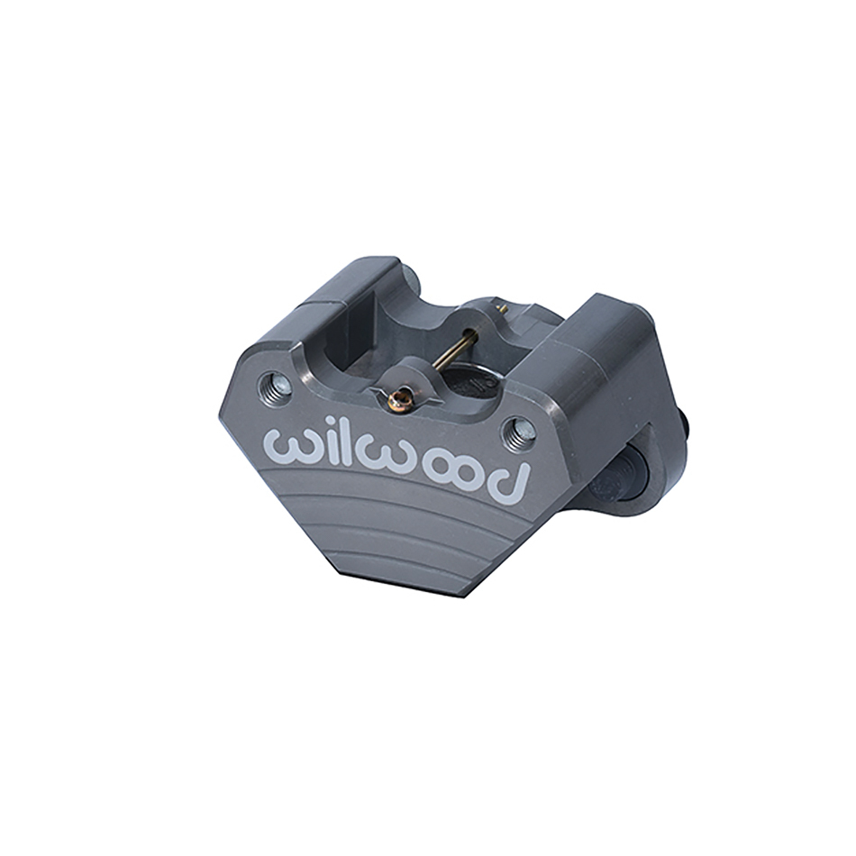 Wilwood 120-2498 Brake Caliper, Dynalite, 1 Piston, Billet Aluminum, Gray Anodized, 13.000 in OD x 0.250 in Thick Rotor, 3.280 in Floating Mount, Each