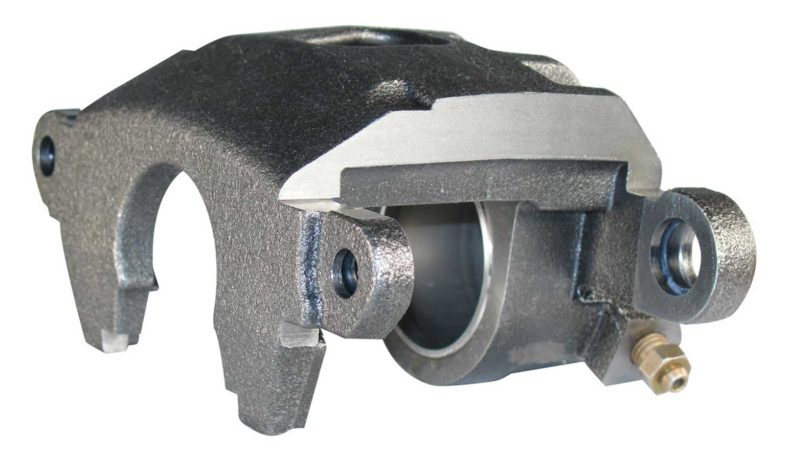 Wilwood 120-9333 Brake Caliper, GM Metric, 1 Piston, Iron, Natural, 11.750 in OD x 1.040 in Thick Rotor, 5.46 in Floating Mount, Each