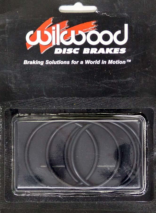 Wilwood 130-0777 Brake Caliper Rebuild Kit, O-Ring, Rubbers, 2.00 in Wilwood Piston, Kit