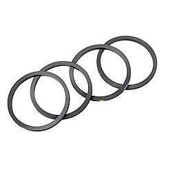 Wilwood 130-3602 Brake Caliper Rebuild Kit, O-Ring, Rubbers, 1.25 in Wilwood Piston, Kit