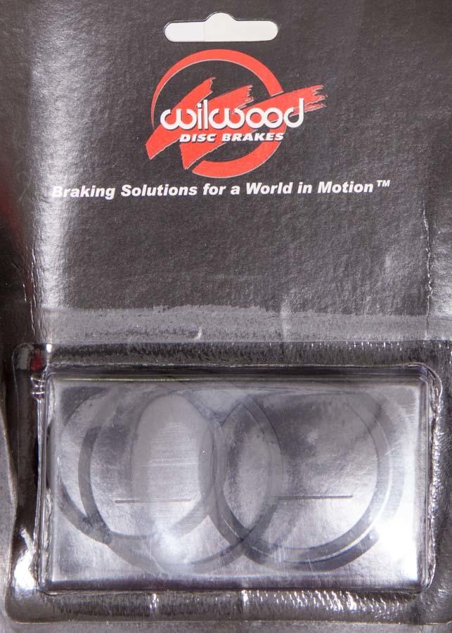 Wilwood 130-5100 Brake Caliper Rebuild Kit, O-Ring, Rubbers, 1.88 / 1.62 in Wilwood Piston, Kit