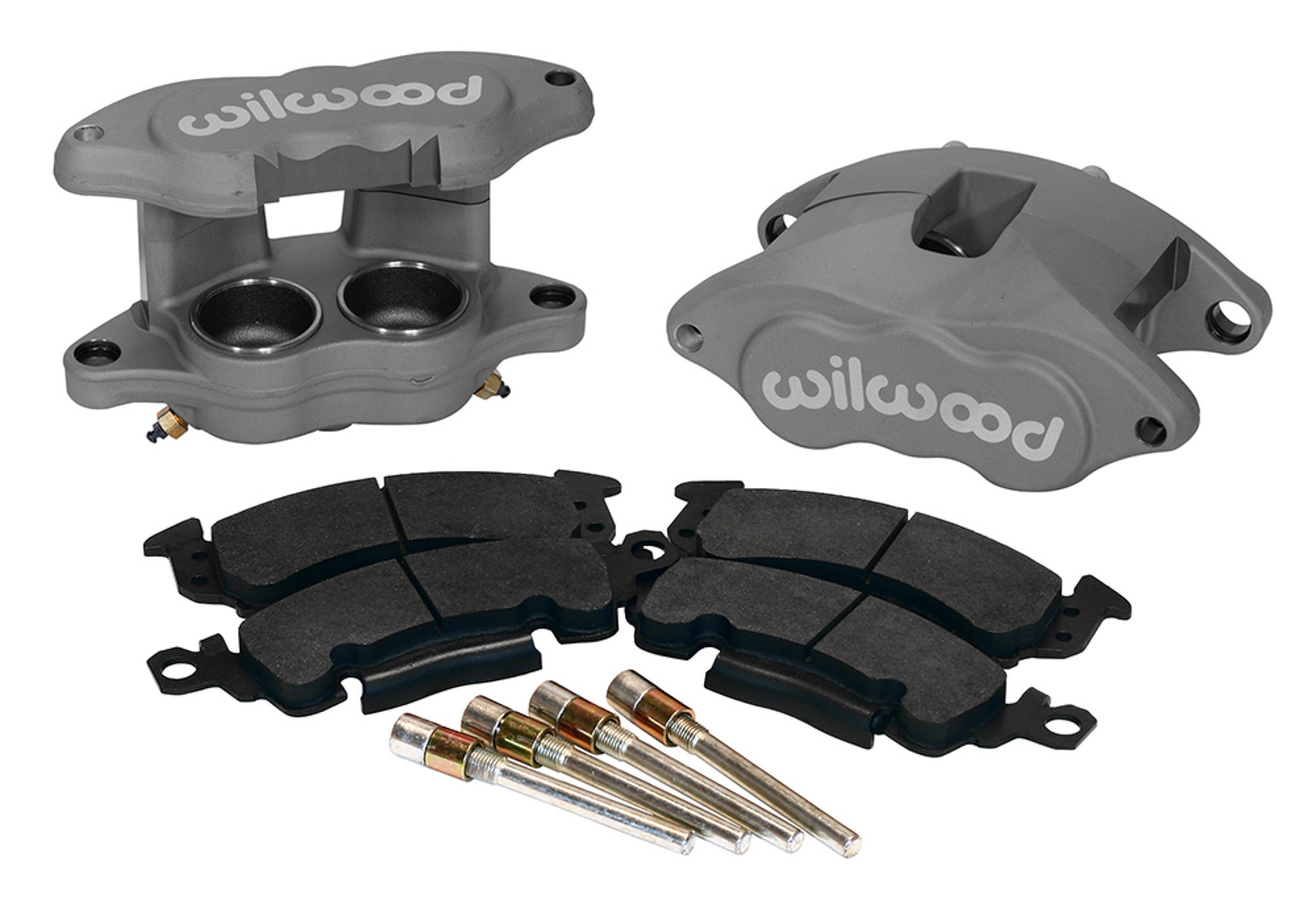 Wilwood 140-11290 Brake Caliper, D52, 2 Piston, Forged Aluminum, Natural, 12.190 in OD x 1.250 in Thick Rotor, 7.060 in Floating Mount, GM 1968-96, Kit
