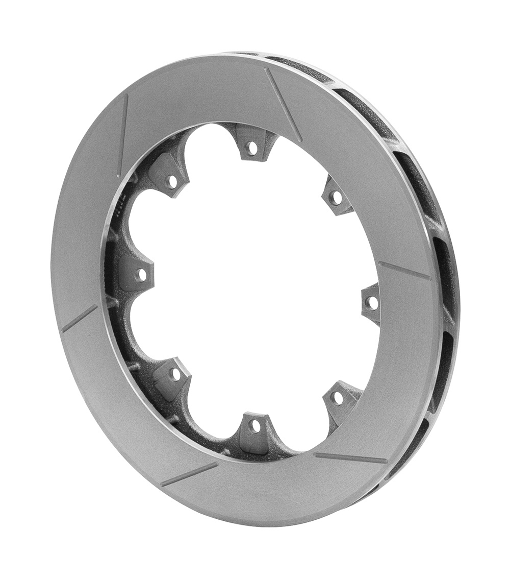 Wilwood 160-15880 Brake Rotor, ULGT, Driver Side, Slotted, 11.750 in OD, 0.99 in Thick, 8 x 7.00 in Bolt Pattern, Iron, Natural, Each