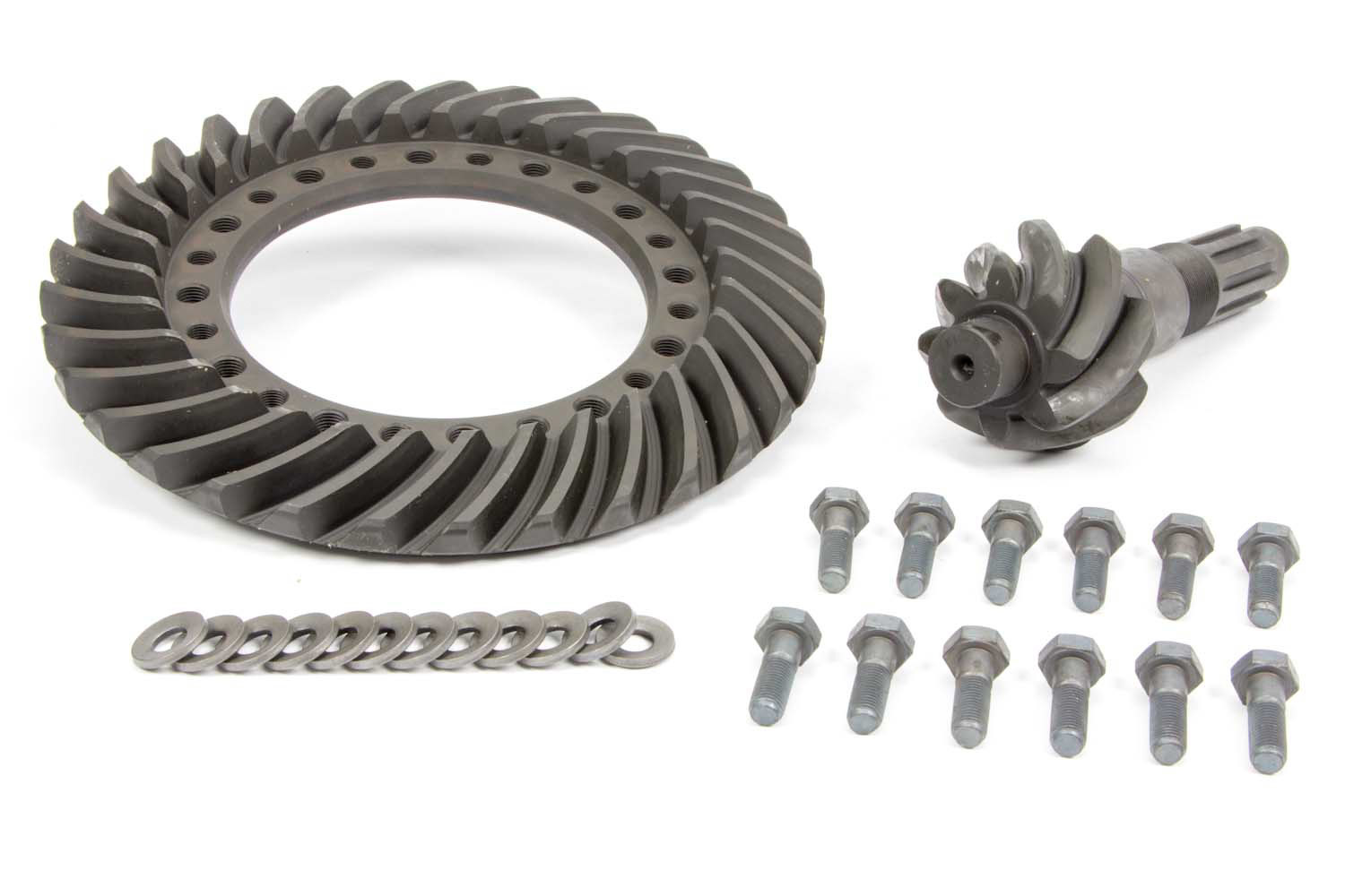 Winters 5400 Ring and Pinion, 4.86 Ratio, 10 Spline, Steel, Winters 12-Bolt 10 in Quick Change, Kit