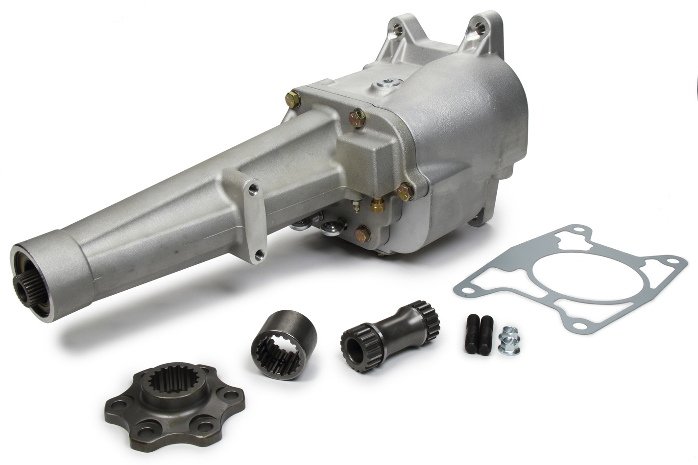 Winters 60100 Transmission, Falcon Late Model, Manual, 2-Forward Speeds, Reverse, Internal Hydraulic Clutch, 18 Spline Input Shaft, Aluminum Case, Kit