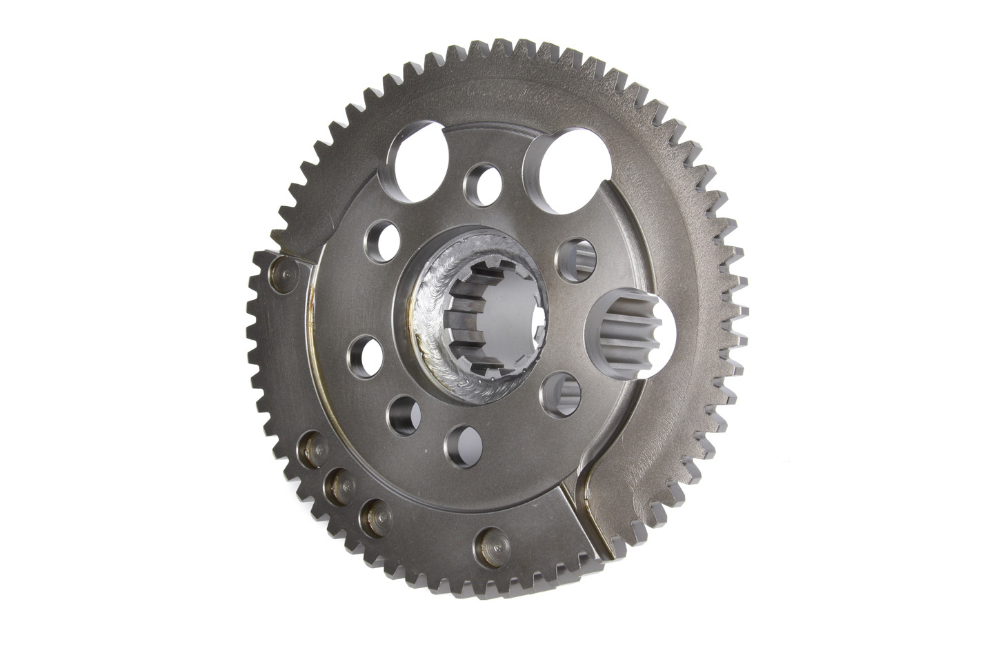 Winters 63844-10H Flywheel, 64 Tooth, External Balance, Crank Coupler, Steel, Natural, Small Block Chevy, Each