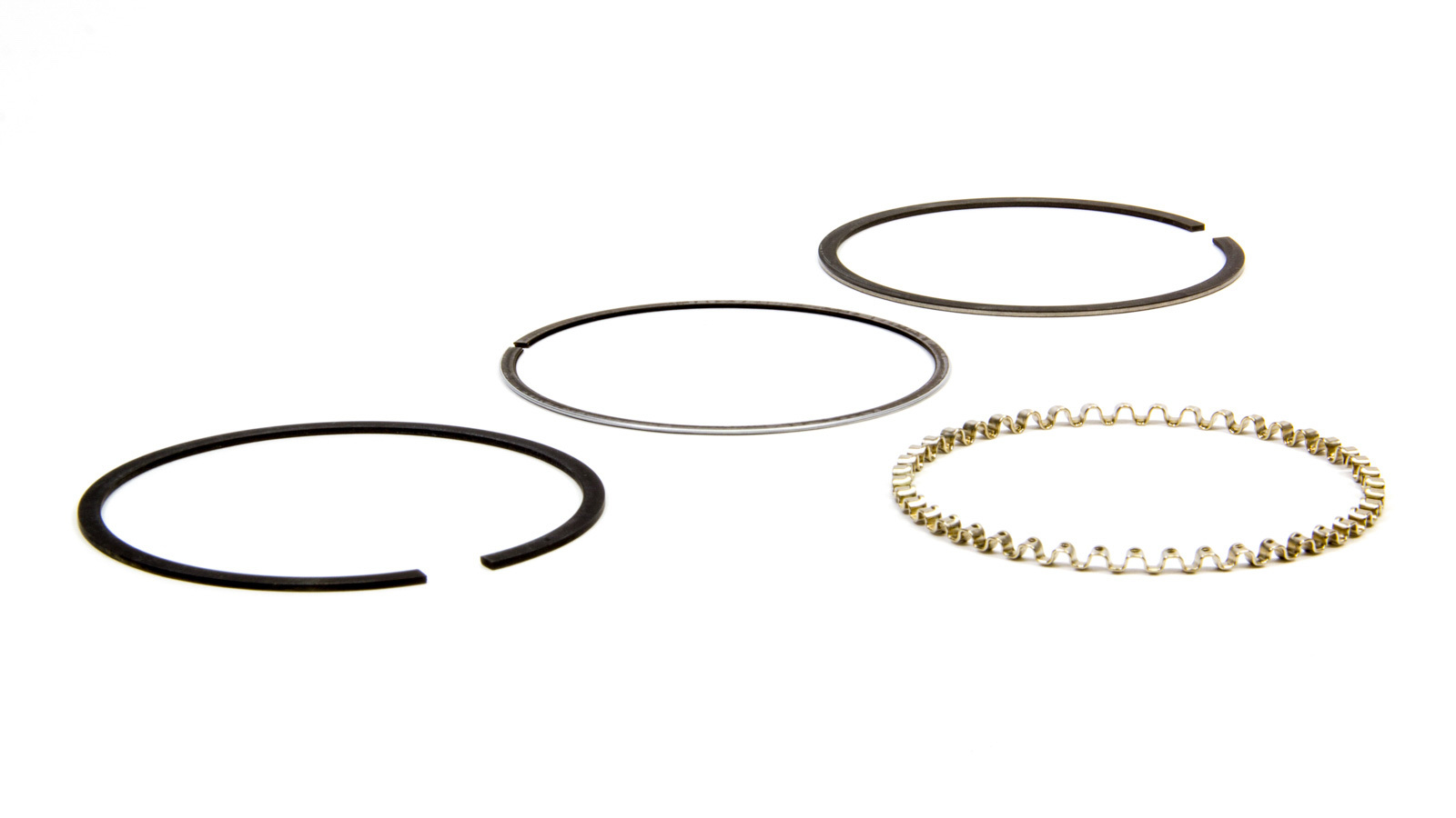 Wiseco 3805HF Piston Rings, 3.805 in Bore, File Fit, 1/16 x 1/16 x 3.0 mm Thick, Standard Tension, Plasma Moly, 1 Cylinder, Kit