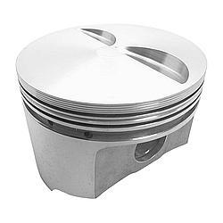 Wiseco K120A3 Piston, Ford 2300 Flat Top, Forged, 3.810 in Bore, 1/16 x 1/16 x 3/16 in Ring Grooves, Minus 3.4 cc, Ford 2300, Set of 4