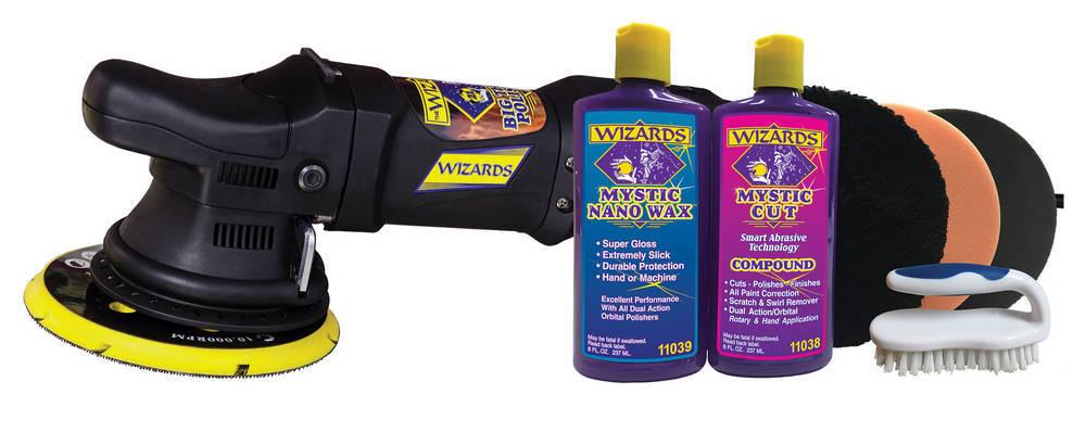 Wizard 21 Big Throw Polisher w/SSR Kit