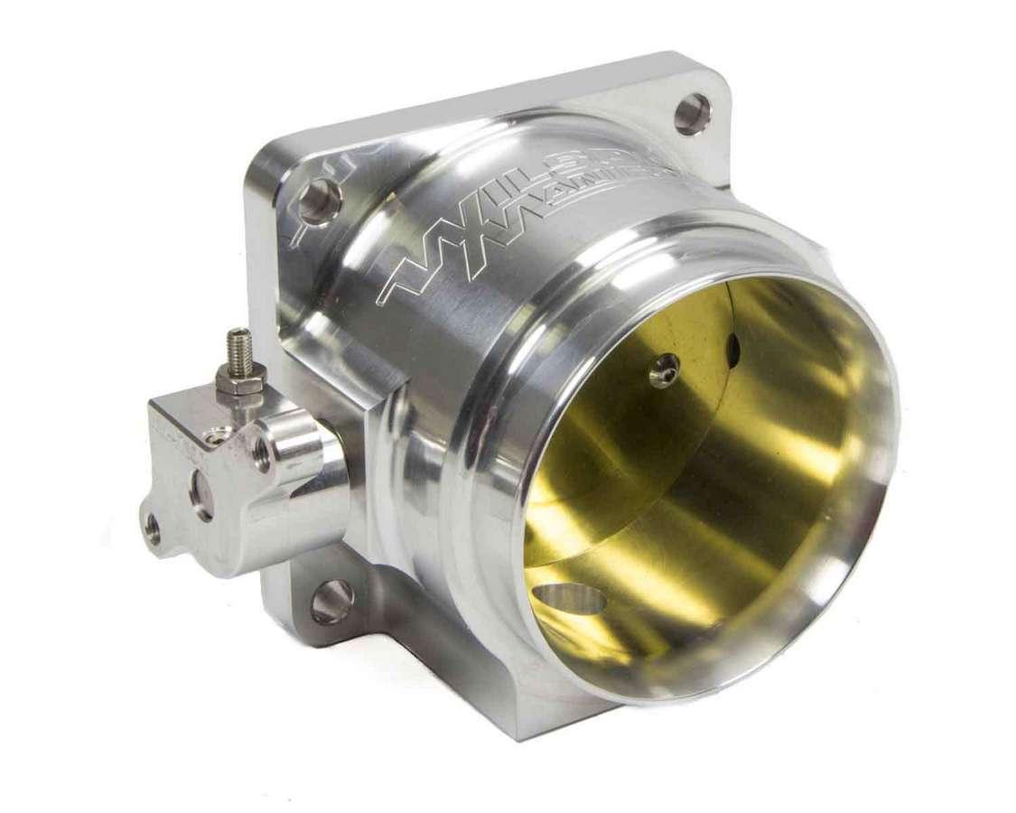 Wilson Manifolds 471080 Throttle Body, 965 CFM, Ford Style Flange, 80 mm Single Blade, Aluminum, Natural, Universal, Each