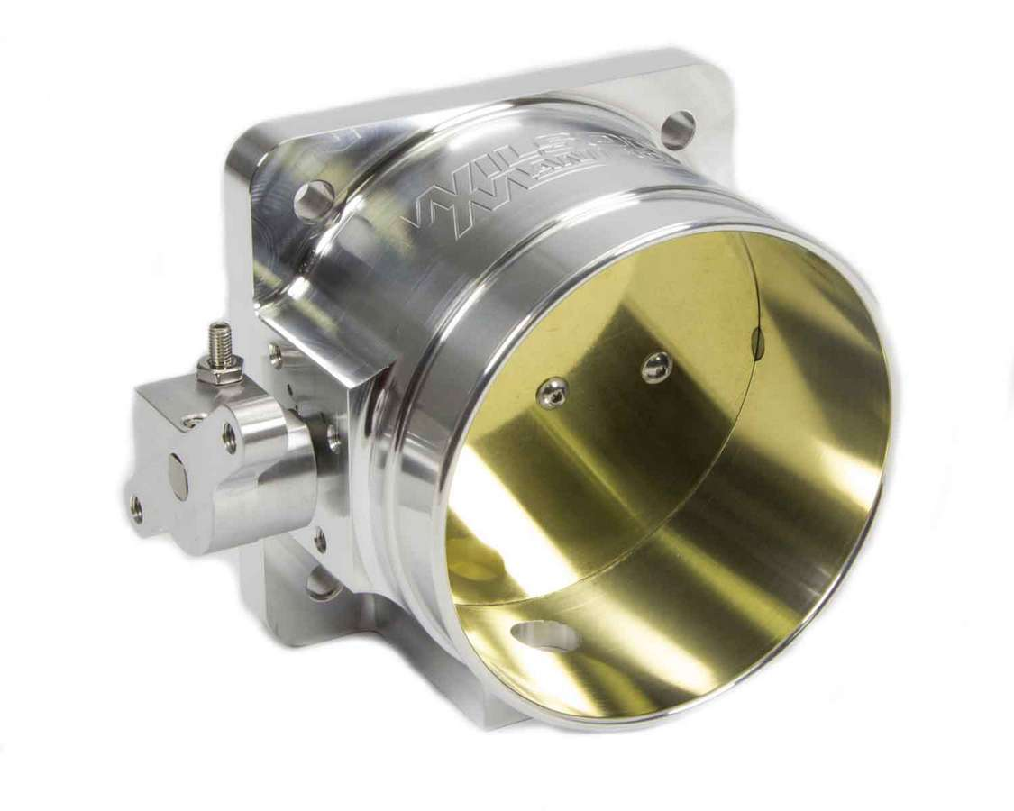 Wilson Manifolds 471105 Throttle Body, 1520 CFM, Ford Style Flange, 105 mm Single Blade, Aluminum, Natural, Universal, Each