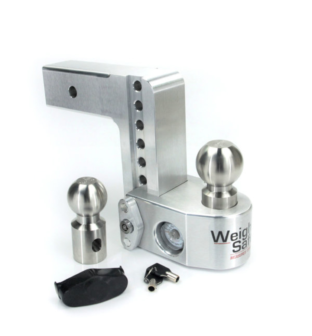 Weigh Safe 6in Drop Hitc h w/ 2.5in Shank