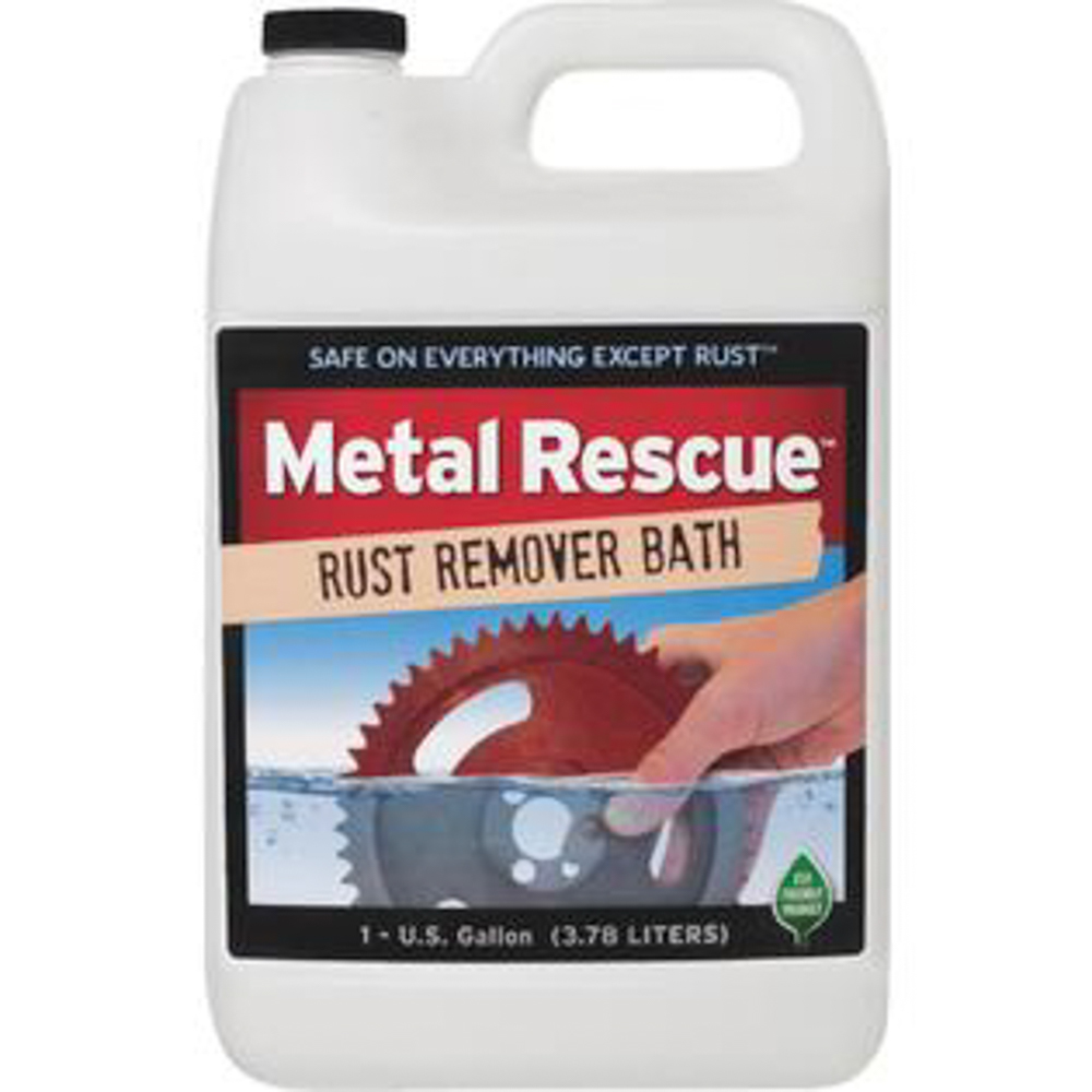 Workshop Hero 128-MR Rust Remover, Metal Rescue, 1 gal Jug, Each