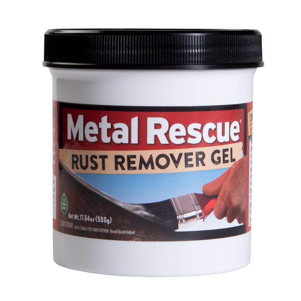 Workshop Hero 17-MRG Rust Remover, Metal Rescue, 17.64 oz Jar, Each