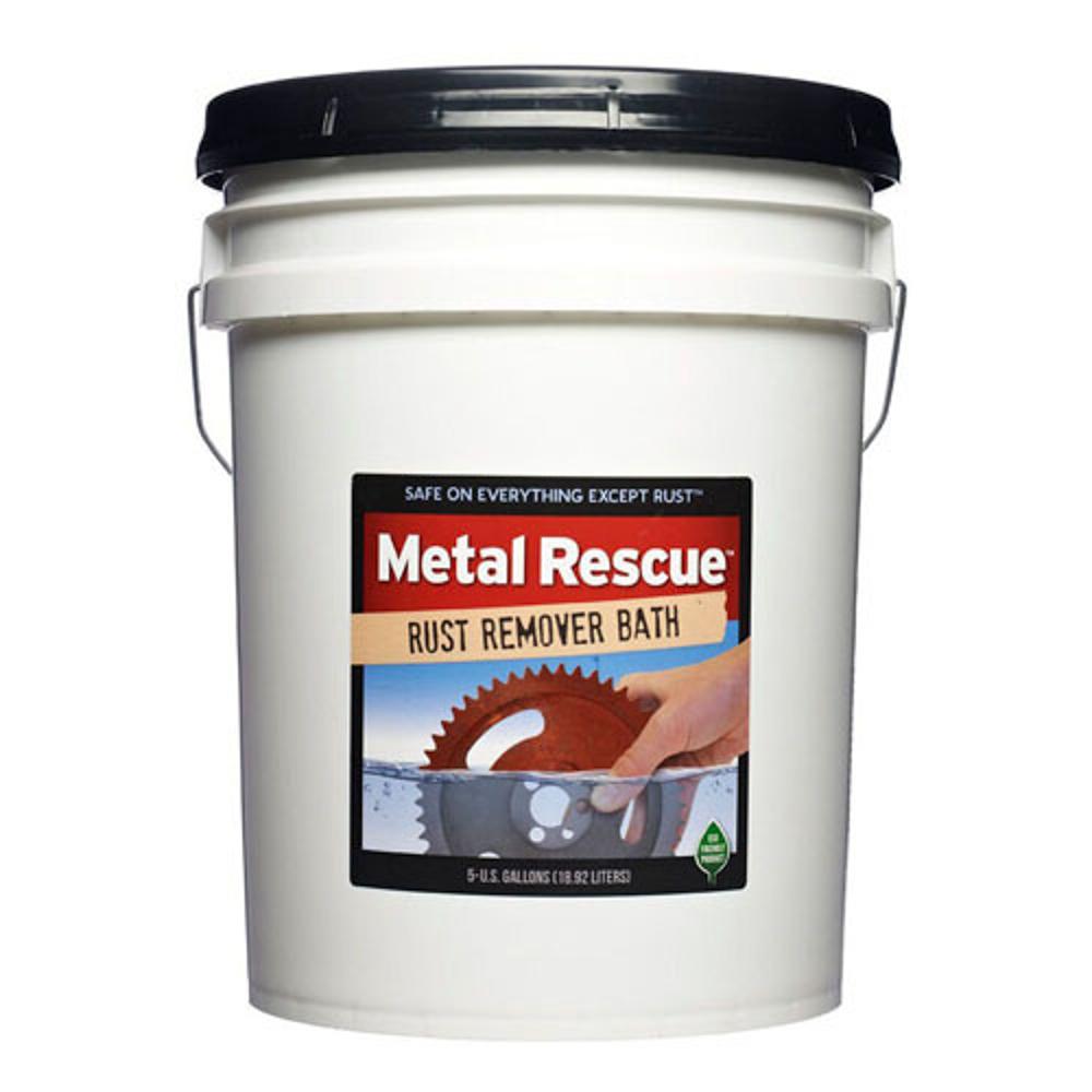 Workshop Hero 5-MR Rust Remover, Metal Rescue, 5 gal Bucket, Each