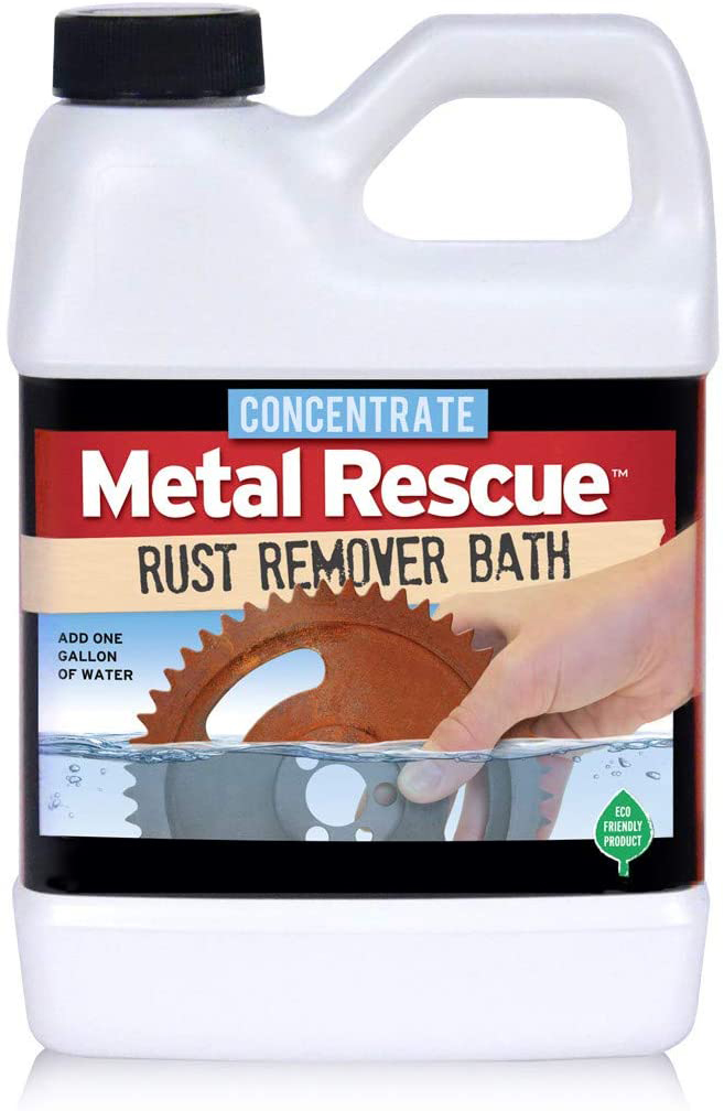 Workshop Hero 64-MRC Rust Preventative, Dry Coat, Concentrate, 64 oz Bottle, Each