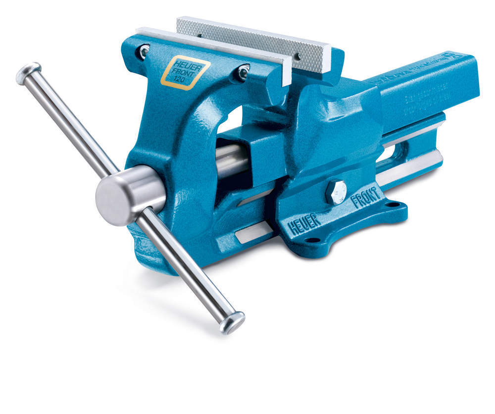 120Mm Bench Vise 4-3/4in With Replaceable Jaws