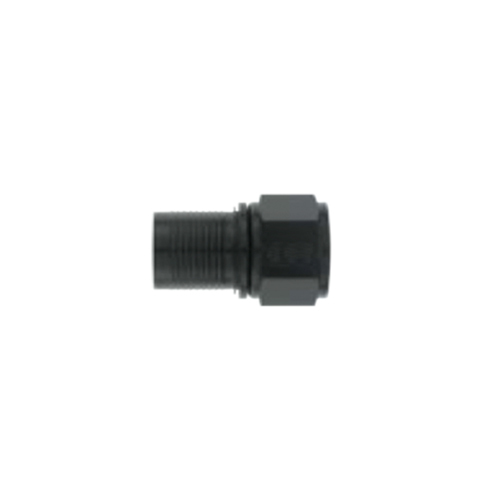 XRP 220016 Fitting, Hose End, Straight, 16 AN Hose to 16 AN Female, Swivel, Aluminum, Black Anodize, Each