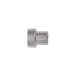XRP 481903-6 Fitting, Tube Sleeve, 3 AN, 3/16 in Tube, Steel, Nickel Plated, Set of 6