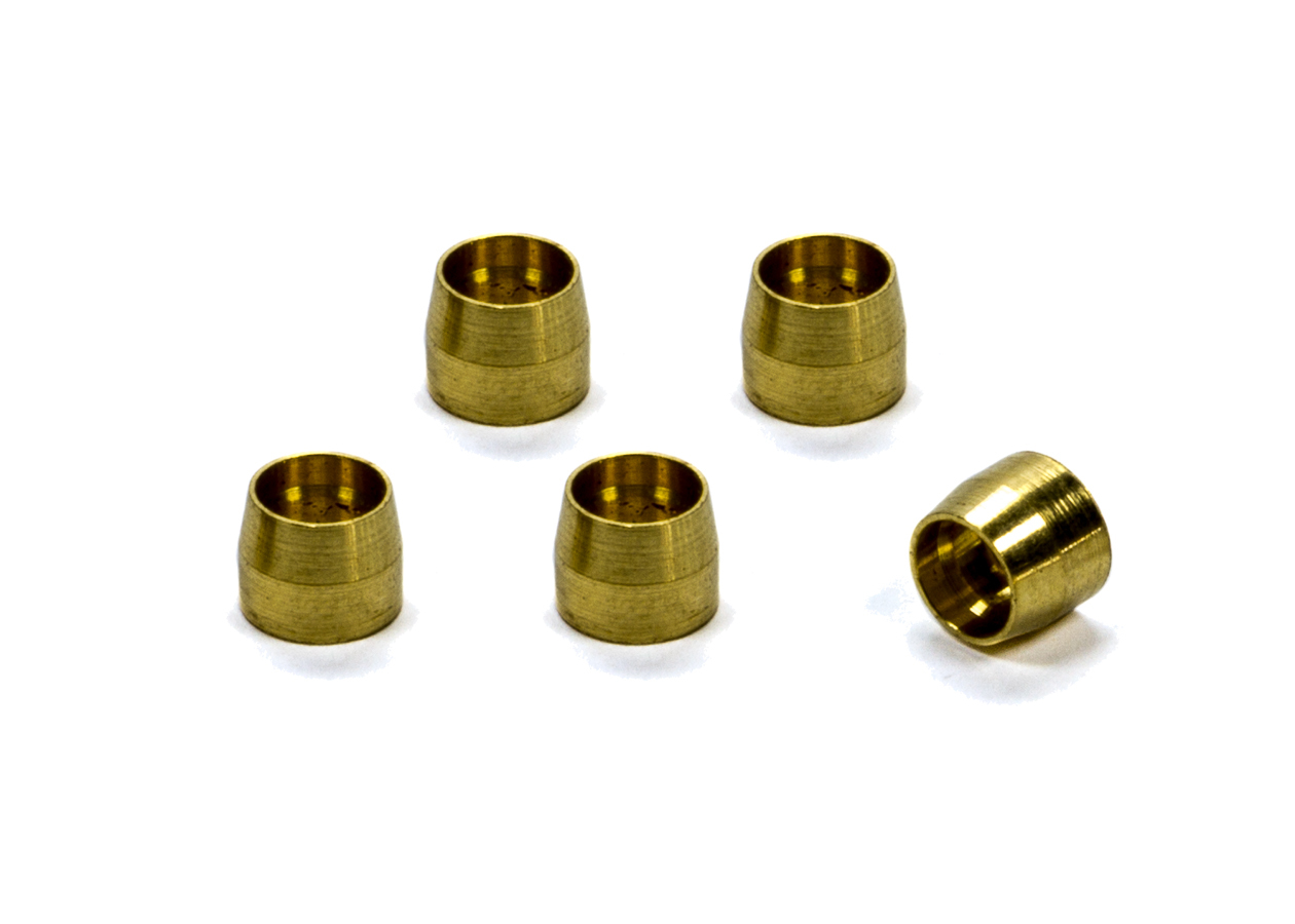 XRP 600503 Compression Ferrule, 3 AN, Brass, Set of 5