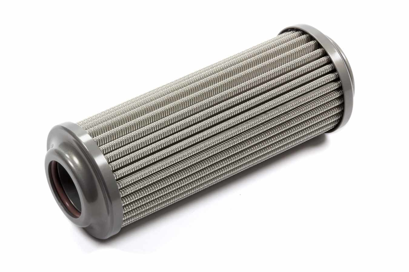 XRP 713100HP Fuel Filter Element, High Pressure, 100 Micron, Stainless Element, XRP 8 AN to 16 AN Short In-Line Filter, Each