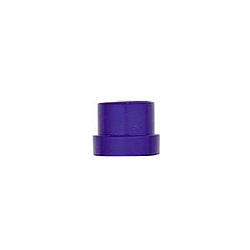 XRP 981904-6 Fitting, Tube Sleeve, 4 AN, 1/4 in Tube, Aluminum, Blue Anodize, Set of 6