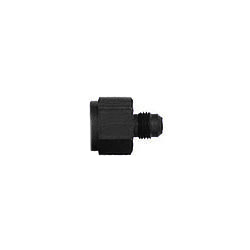XRP 995011BB Fitting, Adapter, Straight, 10 AN Female to 8 AN Male, Aluminum, Black Anodized, Each