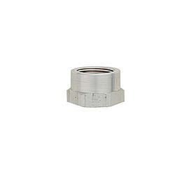 XRP 996704 Bung, 1/2 in NPT Female, Weld-On, Raised Surface Fit, Aluminum, Natural, Each