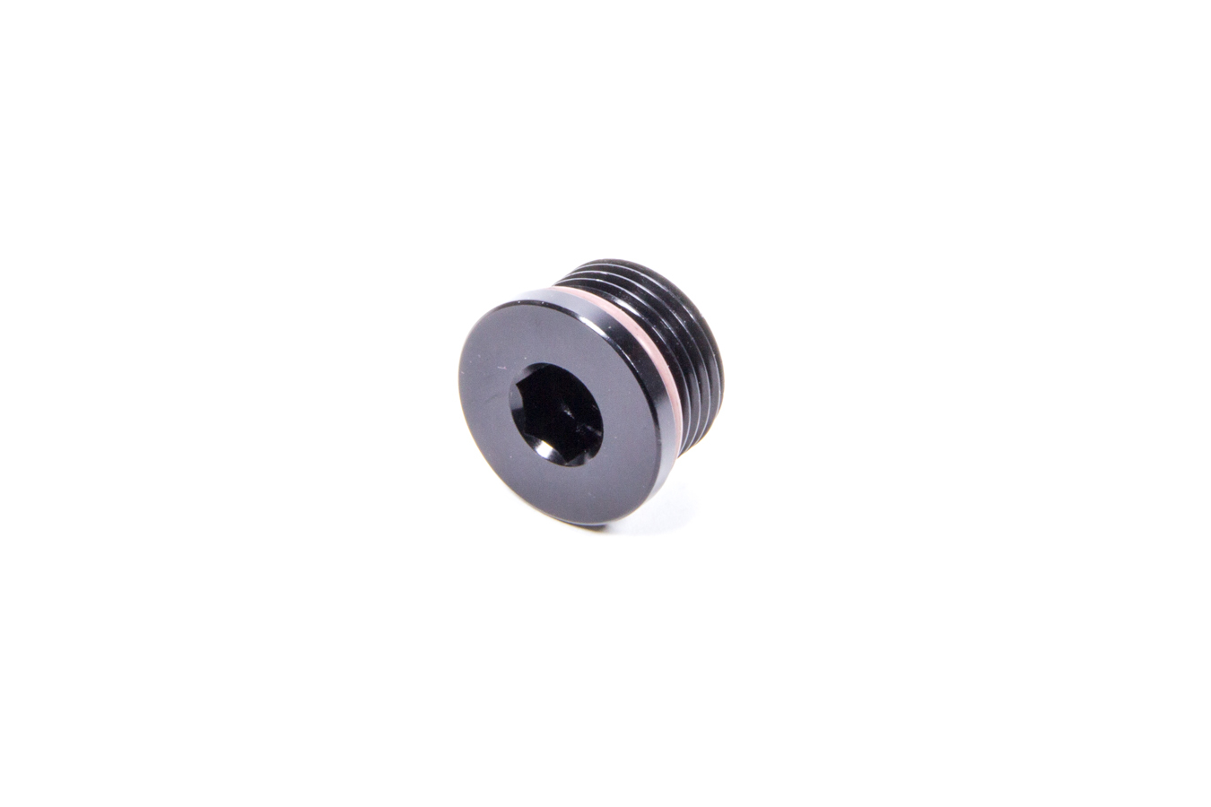 XRP IHP010 Fitting, Plug, 10 AN Male O-Ring, Allen Head, Black Anodize, Each