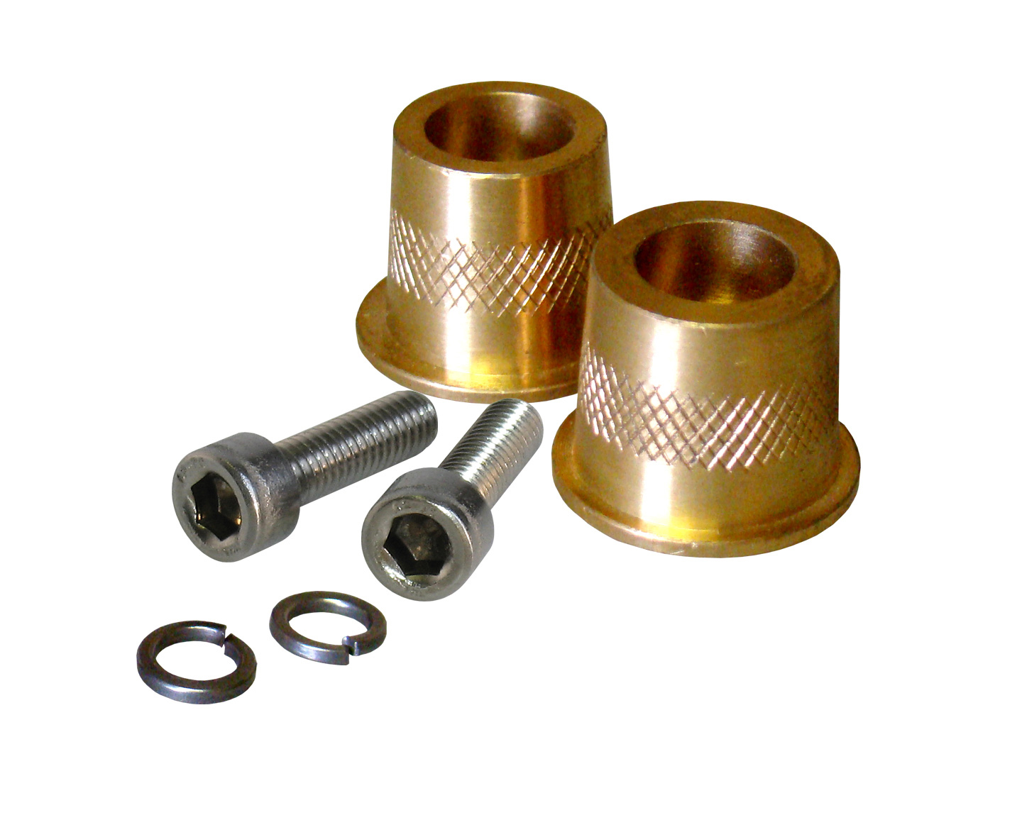 Short Brass Post Adaptor 6mm