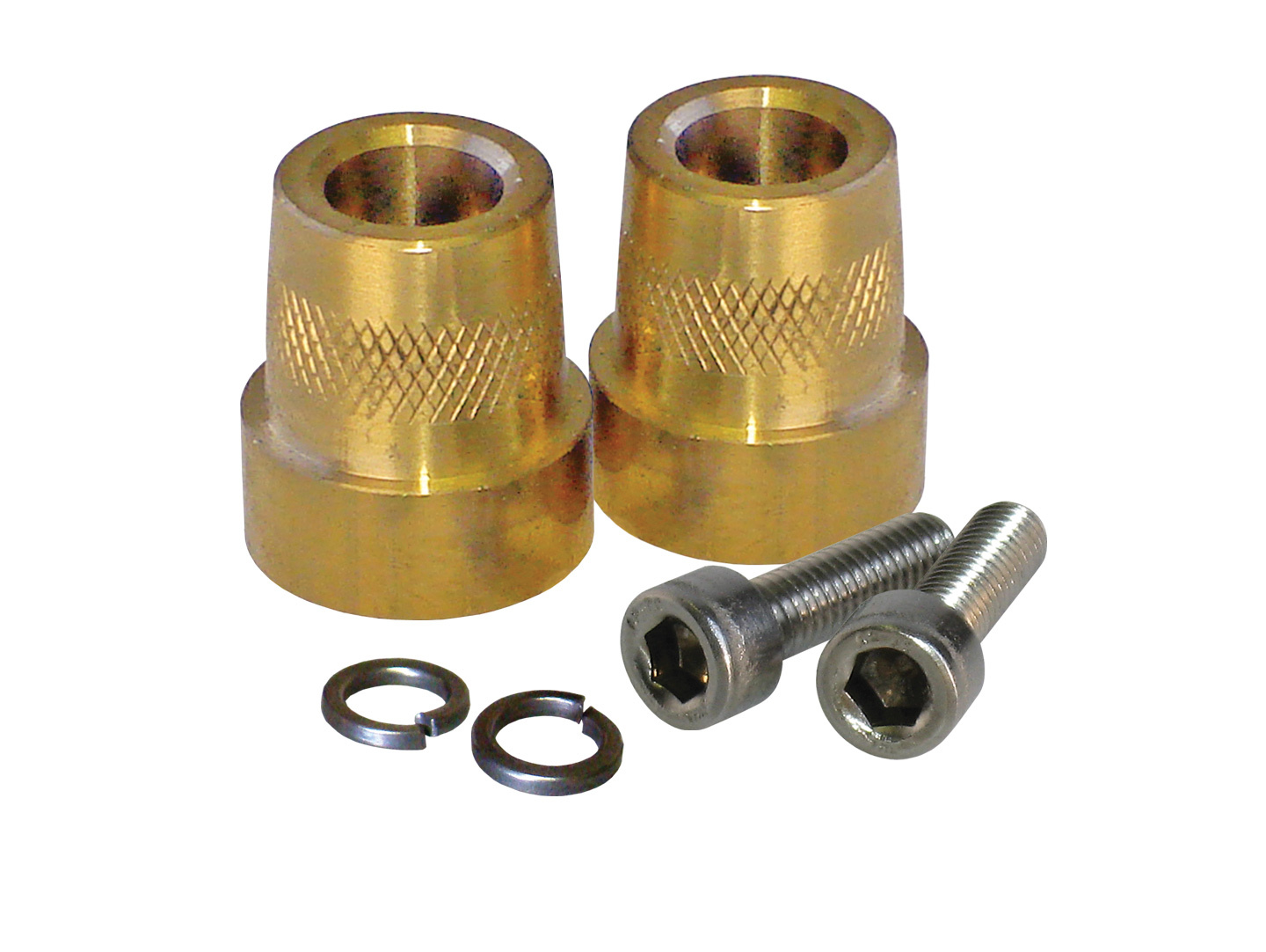 Tall Brass Post Adaptors 6mm