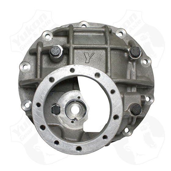 Yukon Gear & Axle YPDOF9-3-325 Differential Case, Extra HD, 3.250 in Bore, Adjusters / Through Bolt Caps, Aluminum, Natural, Ford 9 in, Each