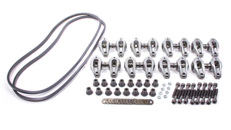 Yella Terra YT6685 Rocker Arm, Ultralite, Shaft Mount, 1.85 Ratio, Roller Tip, Aluminum, GM LS-Series, Kit