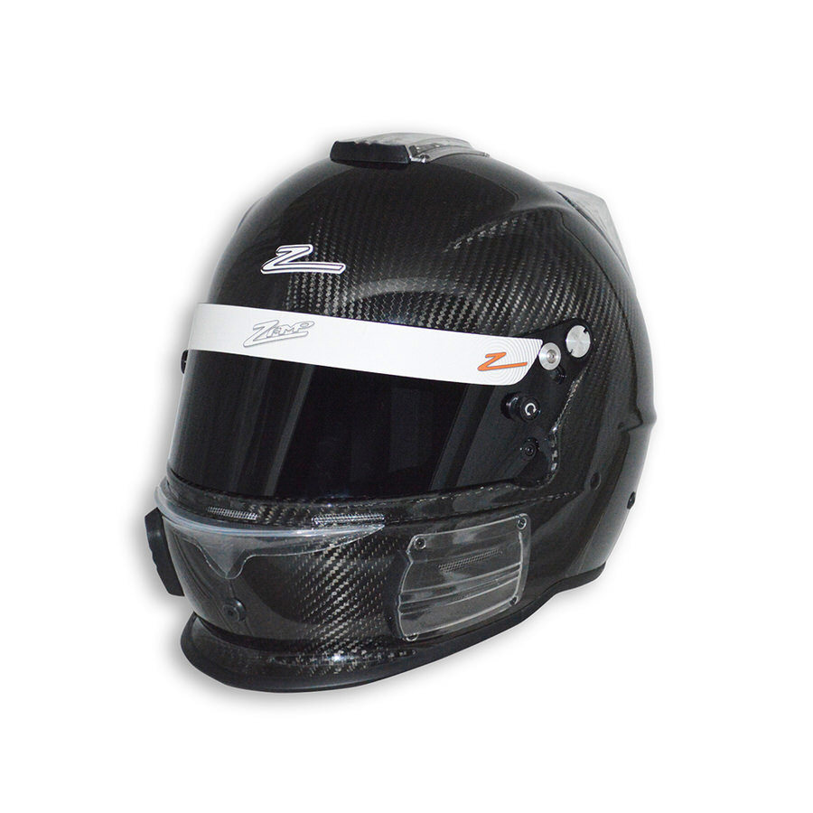 Zamp H741CB3XL Helmet, RZ-44C, Snell SA2015, Head and Neck Support Ready, Carbon Fiber, X-Large, Each