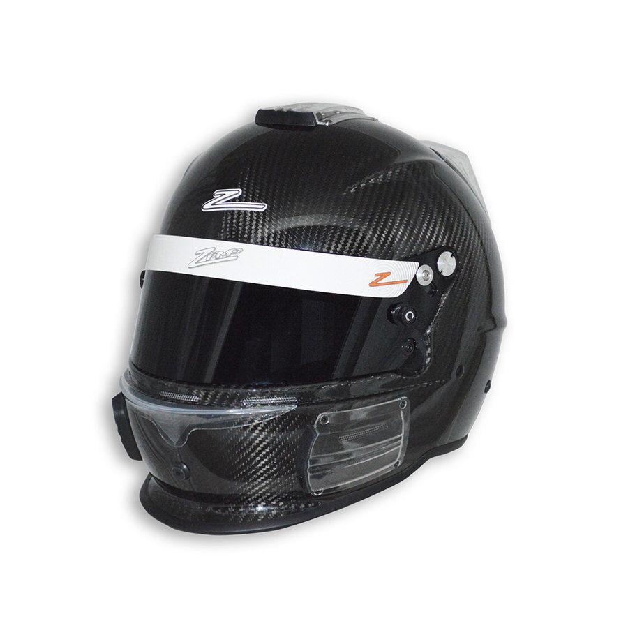 Zamp H741CB3XXL Helmet, RZ-44C, Snell SA2015, Head and Neck Support Ready, Carbon Fiber, 2X-Large, Each