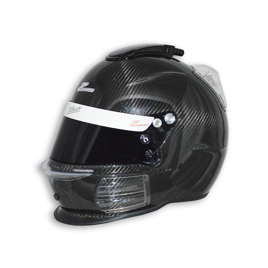 Zamp H742CB3S Helmet, RZ-44C Air, Snell SA2015, Head and Neck Support Ready, Carbon Fiber, Small, Each