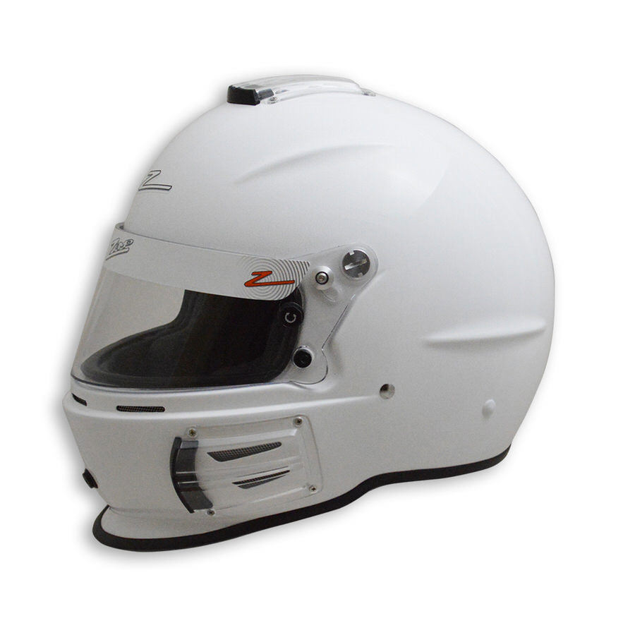 Zamp H743001XXL Helmet, RZ-42, Snell SA2015, Head and Neck Support Ready, White, 2X-Large, Each