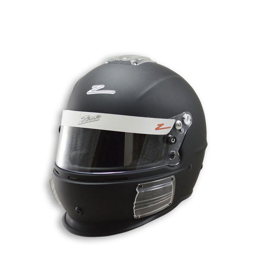 Zamp H74303FXXL Helmet, RZ-42, Snell SA2015, Head and Neck Support Ready, Flat Black, 2X-Large, Each