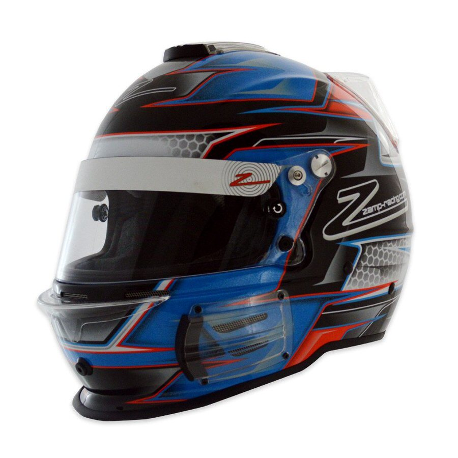 Helmet RZ-42 Large Graphic Orange/Blk SA15